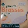 Yaourts Brassés au citron (4 Pots) - Product