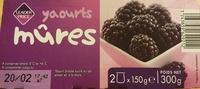 Yaourts mûres - Produit - fr