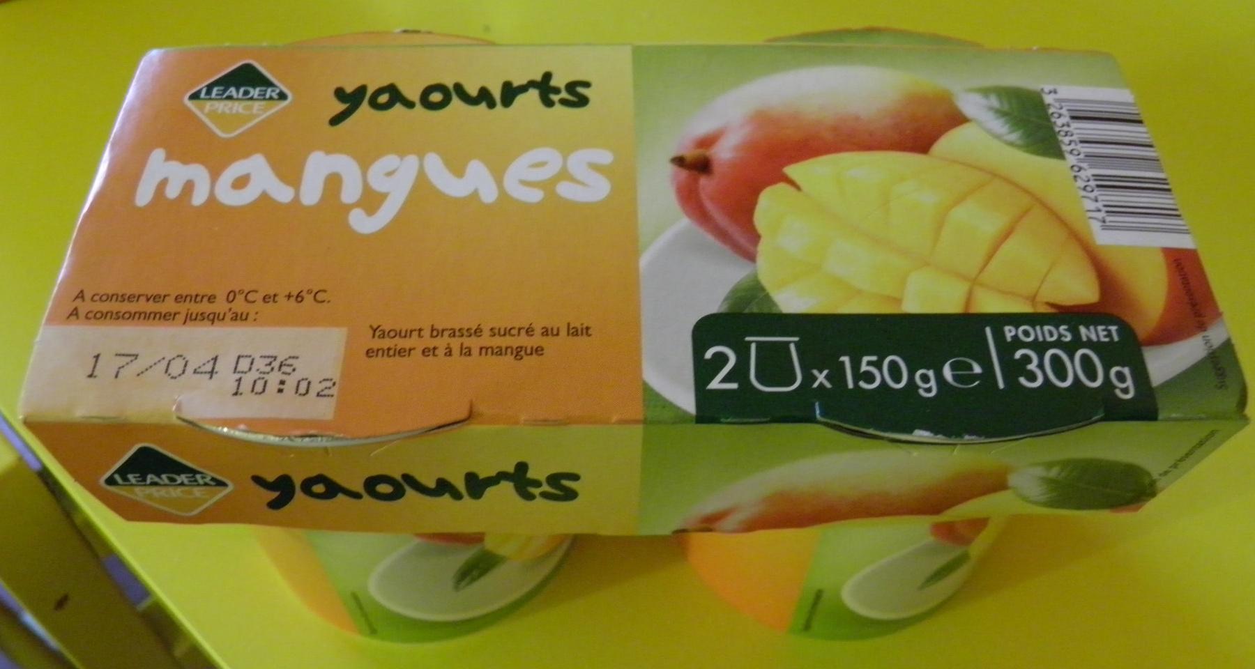 Yaourts Mangues - Produit - fr