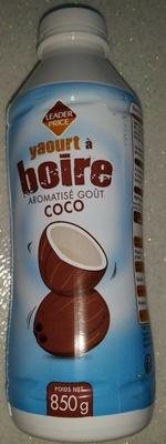 Yaourt à boire aromatisé goût Coco - Product