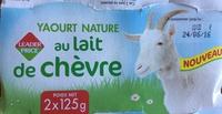 Yaourt nature au lait de chèvre - Produit