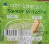 Créme dessert saveur pistache - Product