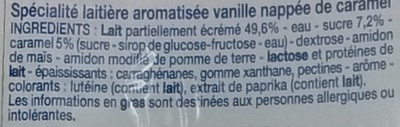 Flan caramel (12 pots) - Ingrédients - fr