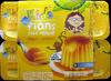 Flans goût vanille nappés caramel Kids Leader Price - Produit
