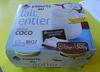 Yaourts au lait entier saveur Coco Leader Price - Produit
