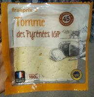 Tomme des pyrenees IGP - Prodotto - fr