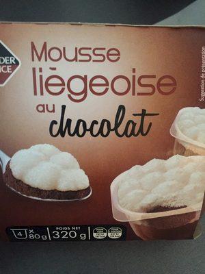 Mousse Liégeoise au Chocolat - Produit - fr