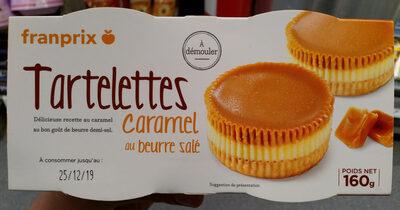 2 Tartelettes Caramel Beurre Salé - Product - fr