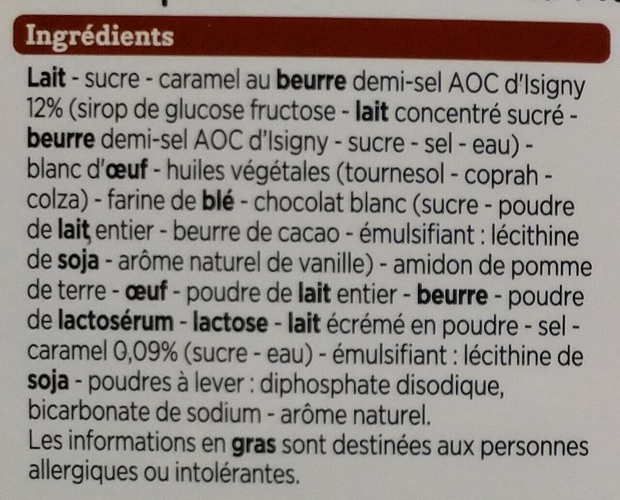 2 Tartelettes Caramel Beurre Salé - Ingrediënten - fr