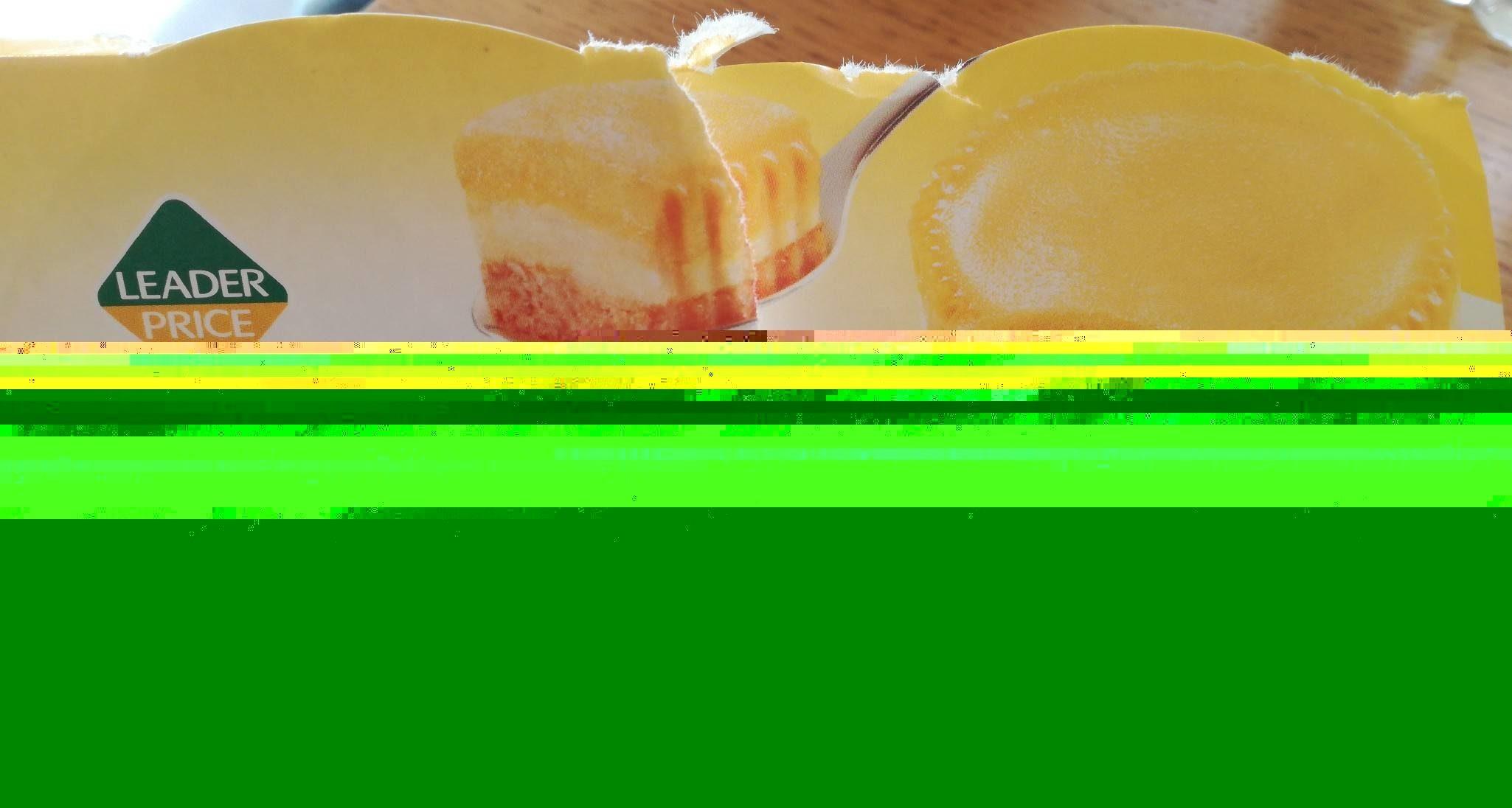 Tartelette au citron de Sicile - Ingrediënten - fr