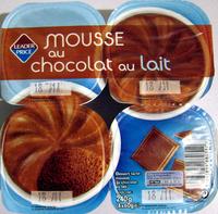 Mousse au chocolat au lait Leader Price - Product - fr