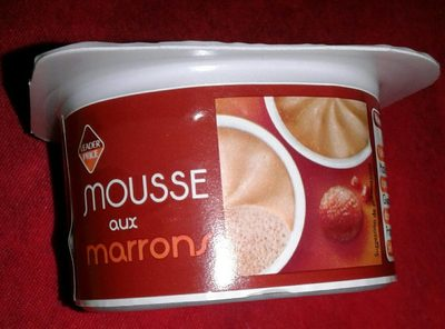 Mousse de marrons - Product
