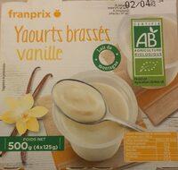 Yaourts brassés vanille - Prodotto - fr