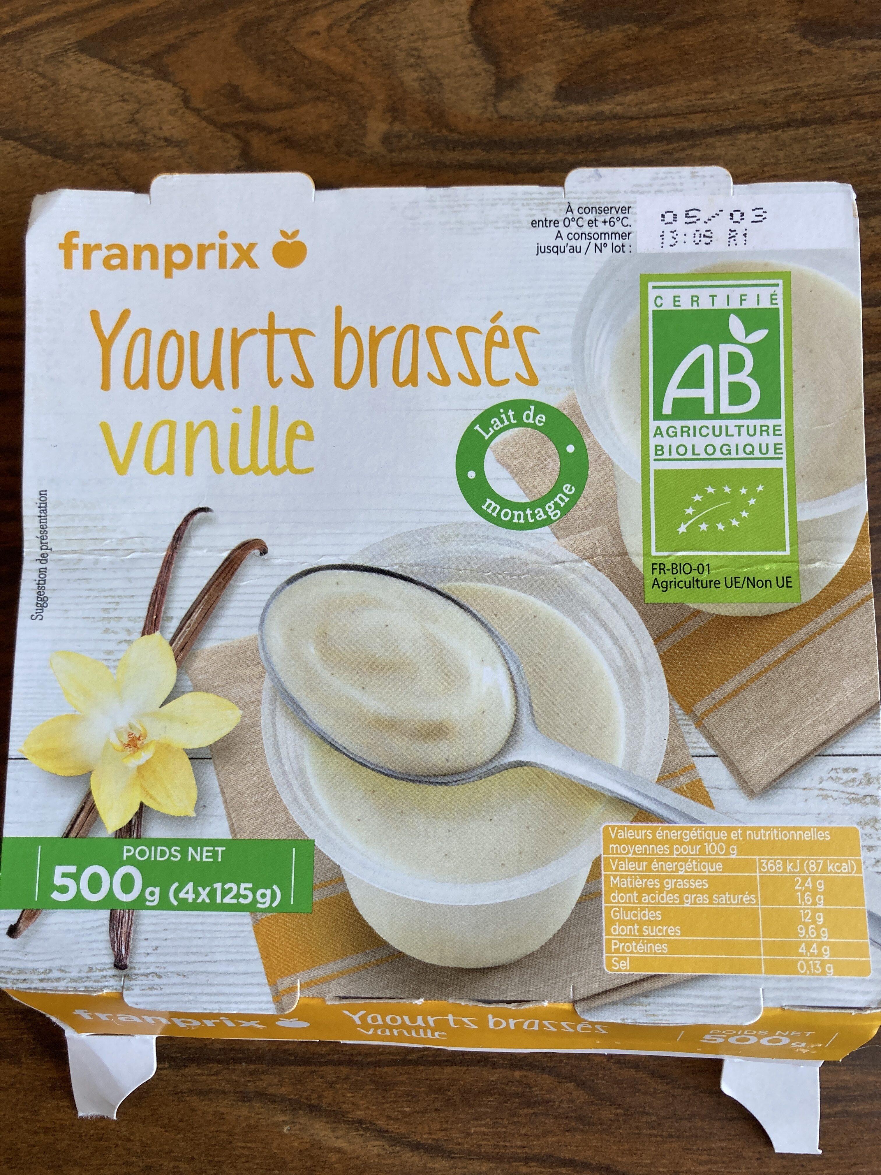 Yaourts brassés vanille - Istruzioni per il riciclaggio e/o informazioni sull'imballaggio - fr