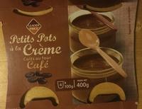 Petits pots à la crème cuits au four café - Produit