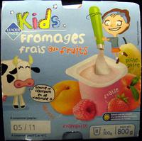 Kids Fromages frais aux fruits (3,3 % MG) - Produit - fr