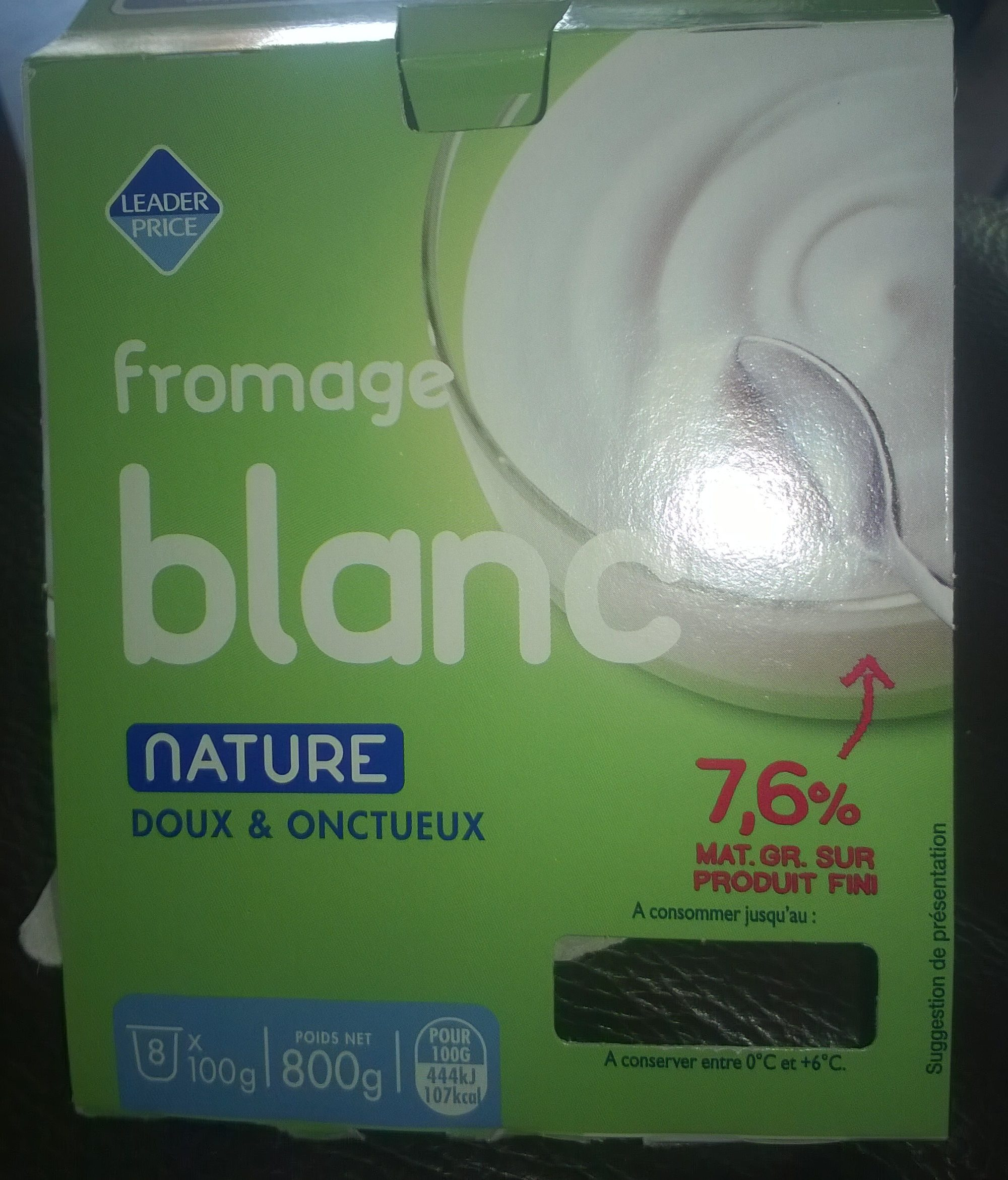 Fromage Blanc - Product