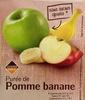 Purée de Pomme banane  - Product