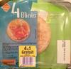4 blinis (+1 gratuit) - Product