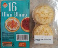 Mini blinis - Producte - fr
