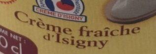 Crème Fraîche d'isigny AOP 38% - Ingredients - fr