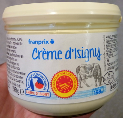 Crème d'Isigny (40% MG) - Product
