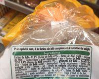 Boule Spéciale Tranchée - Ingrediënten - fr