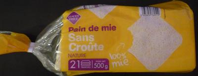 Pain de mie Sans Croûte Nature (21 tranches) - Produit - fr