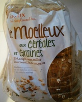 Le Moelleux aux céréales et graines - Product - fr