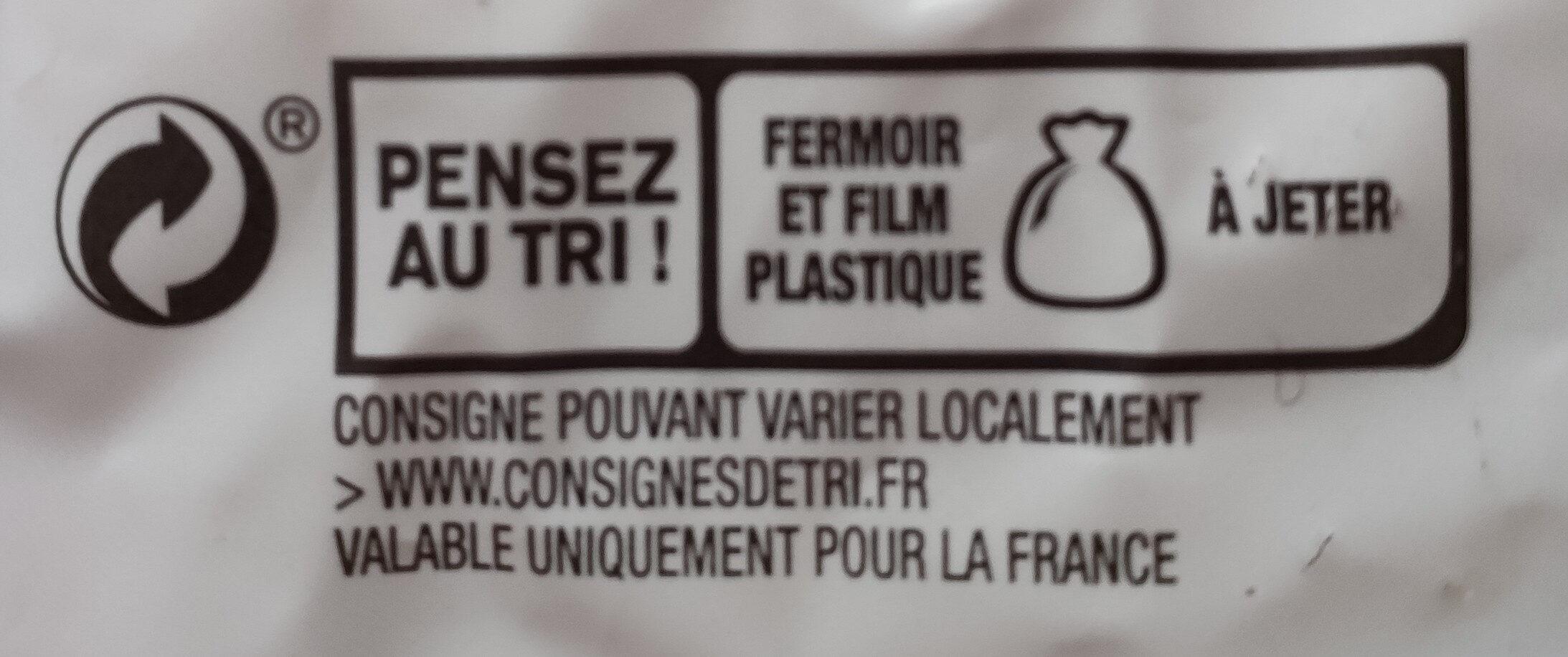 Le Moelleux aux céréales et graines - Recycling instructions and/or packaging information - fr