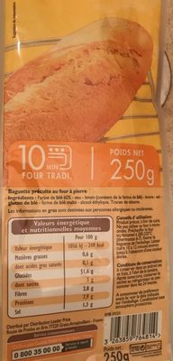 Baguette précuite - Product - fr