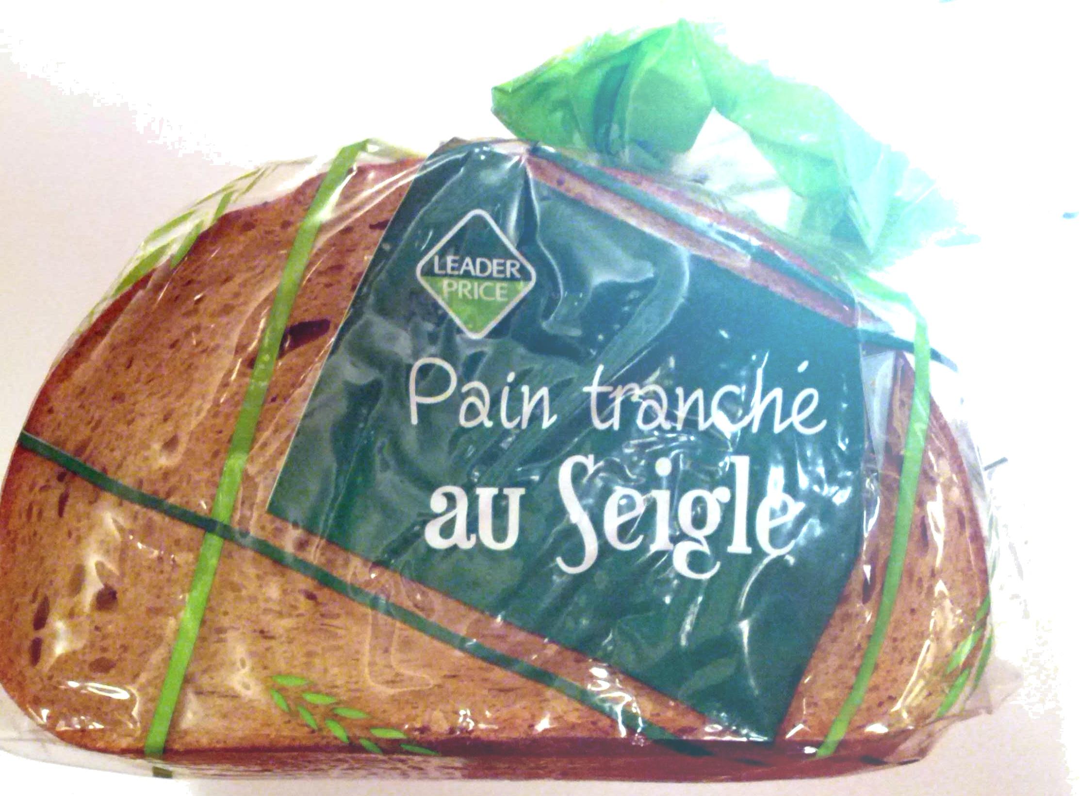 Pain tranché au seigle - Produit - fr