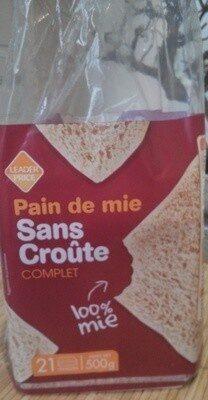 Pain de mie sans croûte - Prodotto