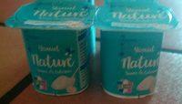 Yaourt nature - Producto