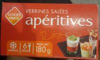 Verrines Salées Apéritives - Product - fr