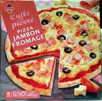 Pizza Jambon Fromage, Cuite sur pierre - Product - fr