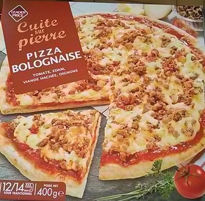 Pizza Bolognaise, Cuite sur pierre - Product - fr
