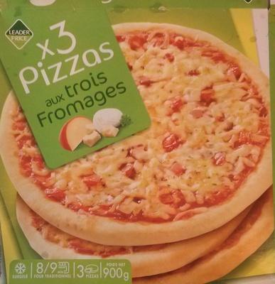 3 pizzas aux trois fromages - Product