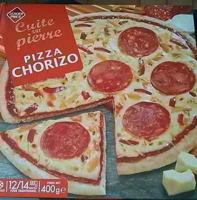 Pizza Chorizo, Cuite sur pierre - Product