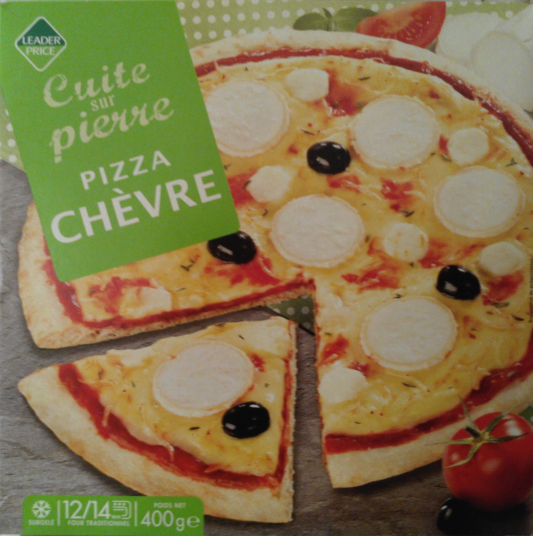 pizza ch vre cuite sur pierre leader price 400 g. Black Bedroom Furniture Sets. Home Design Ideas