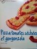 Pizza tomates séchées et gorgonzola - Produit