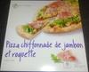 Pizza chiffonnade de jambon et roquette, Surgelé - Produit