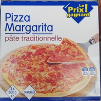 Pizza margarita pâte traditionnelle - Produit - fr