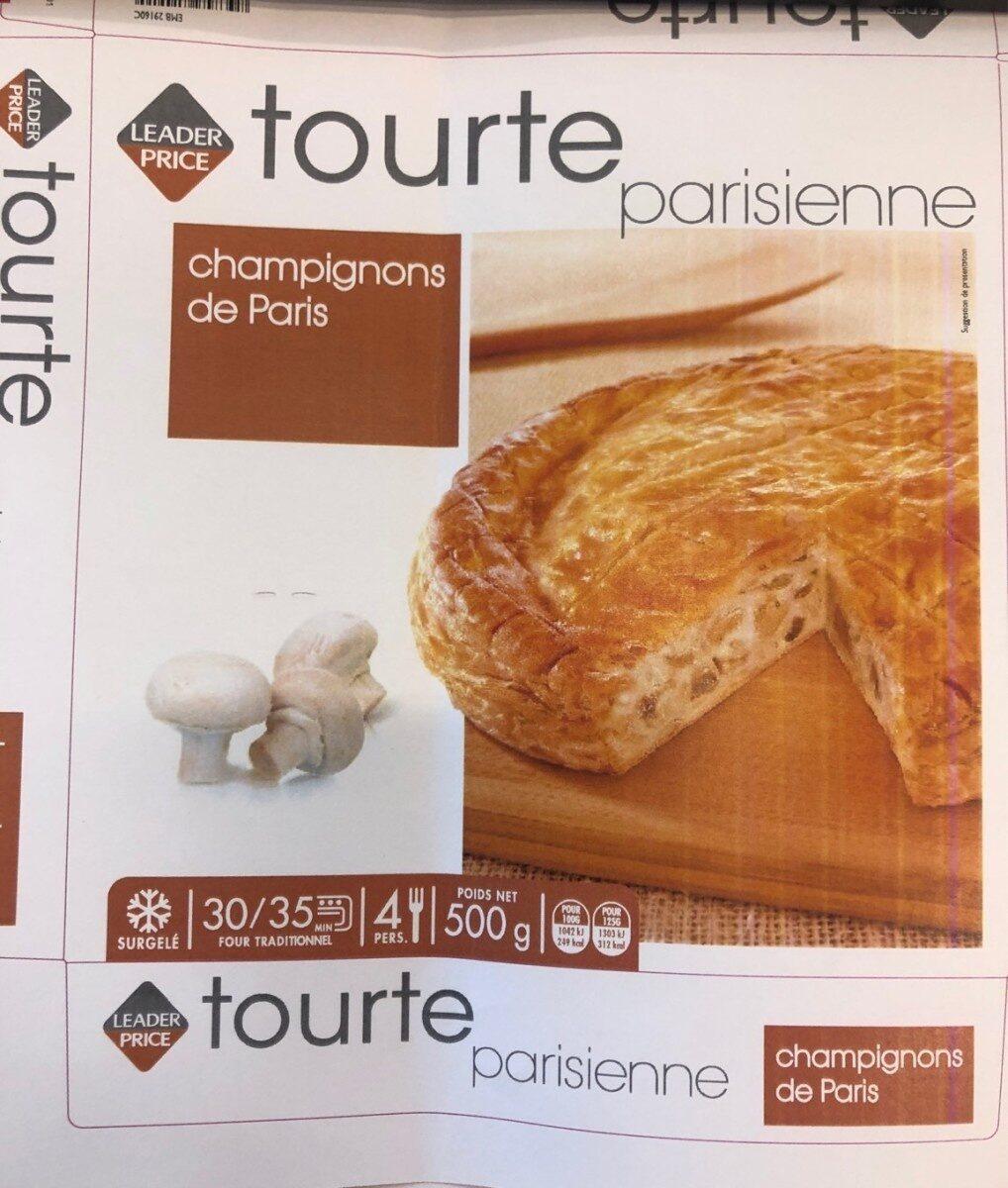 Tourte parisienne champignons de Paris - Product - fr