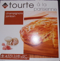 Tourte parisienne champignons de Paris - Product