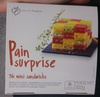Pain Surprise - 36 Mini Sandwichs - Product