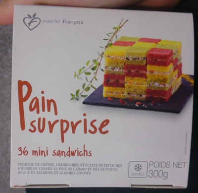 Pain Surprise - 36 Mini Sandwichs - Product - fr