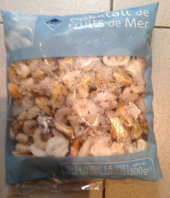Cocktail de fruits de mer surgel leader price 500 g - Cuisiner cocktail de fruits de mer surgele ...