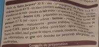 Coquilles Saint-Jacques à la Bretonne - Ingredients - fr