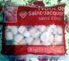 Noix de Saint-Jacques sans corail - surgelé - Produit
